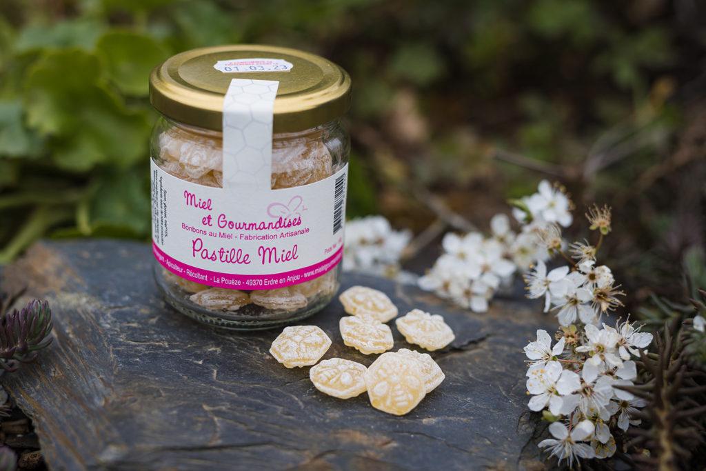 Bonbons au miel : pastille miel